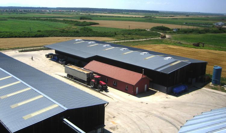 Les fermes de plus de 500/ha sont pour l'essentiel financées par des capitaux privés étrangers ou des fonds d'investissement.(photo Nicolas Lefebvre)
