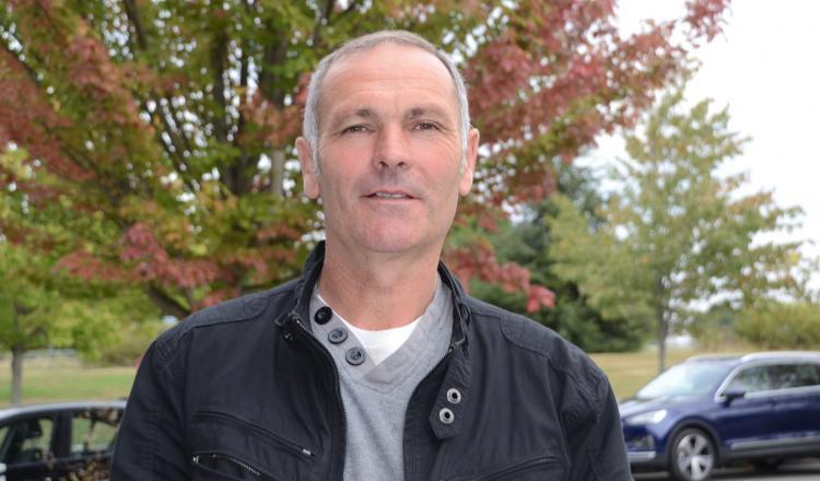 Xavier Mézièreest producteur de lait mayennais, et nouveau président de France Milkboard-Grand Ouest.