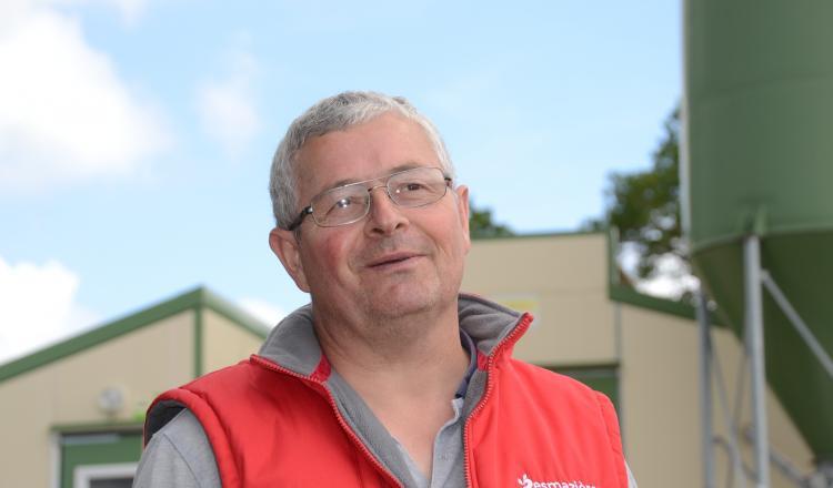 Jean-Yves Guérot, est président du comité de pilotage avicole de la Mayenne, et vice-président de la section avicole de la FDSEA 53.