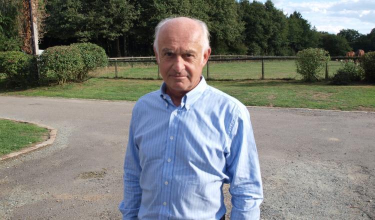 Pierre de Rouälle,président de la Société de vénerie.