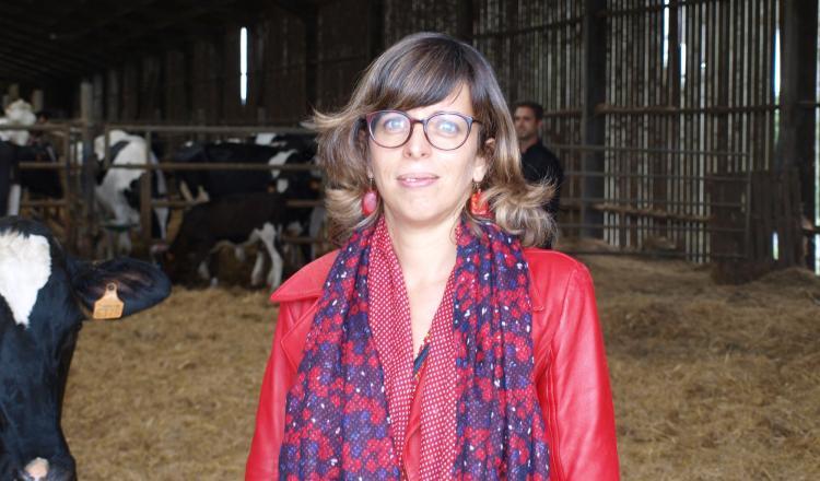 Clotilde Patryest directrice opérationnelle de Valogène (Allice), société en charge de la gestion des échantillons et de la valorisation de l'information génomique.