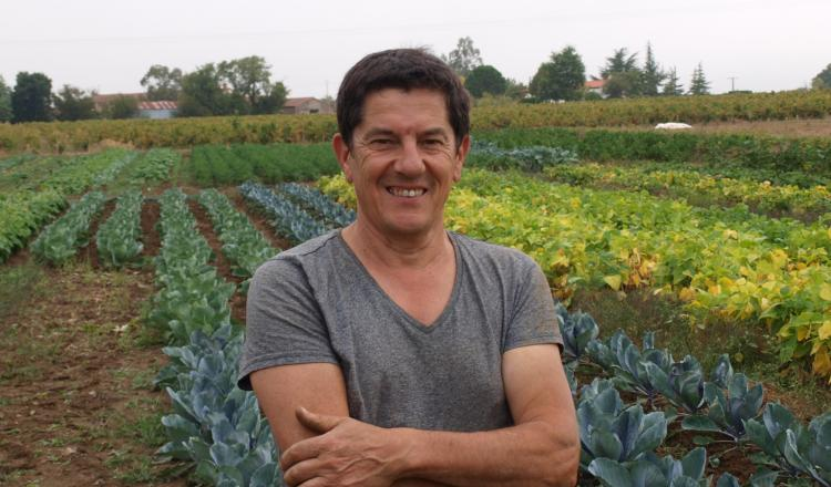 Après 29 ans chez Terrena, Jacques Chauviré est devenu maraîcher.