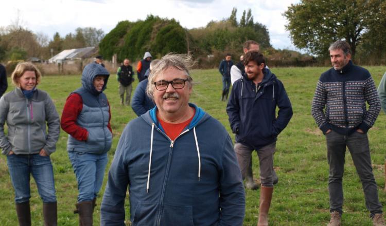 Hubert Poisbeau, qui doit partir en retraite en fin d'année, est depuis des années un des éleveurs référents des formations...