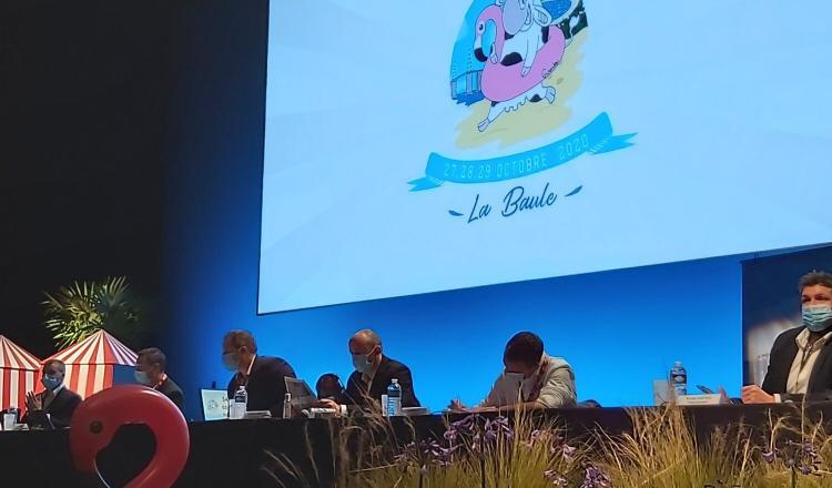 Le 54e Congrès JA s'est tenu à huis clos à La Baule. (photo @JAregionIDF)