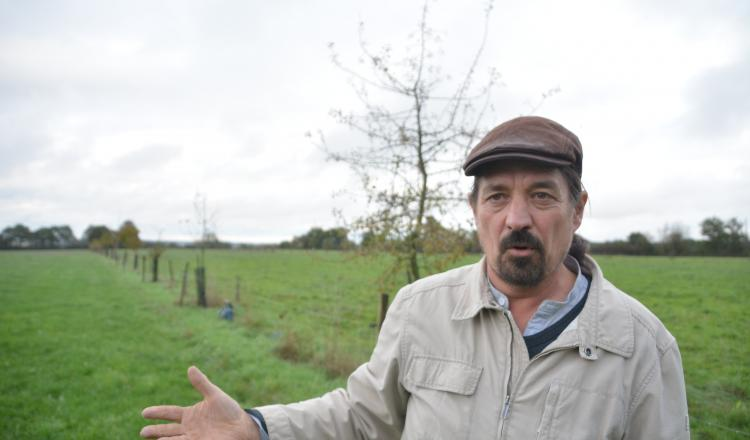"""Philippe Jaunet: """"Quand on perd deux mois de pâturage l'été avec le réchauffement climatique, c'est bien de récupérer cela..."""