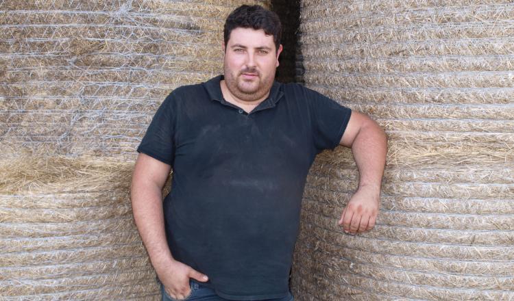 Alexis Roptin, président de JA Pays de la Loire, éleveur de palmipèdes gras et d'ovins à Casson, en Loire-Atlantique.