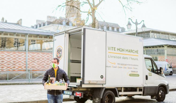 Après Nantes où il est né et l'Ouest où il se développe, le réseau de Vite mon marché espère s'implanter en 2021 dans le...