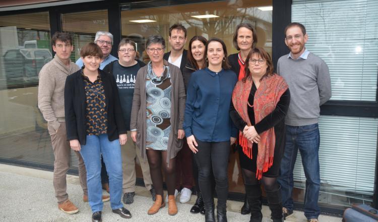 L'équipe actuelle du journal (photo d'archives)