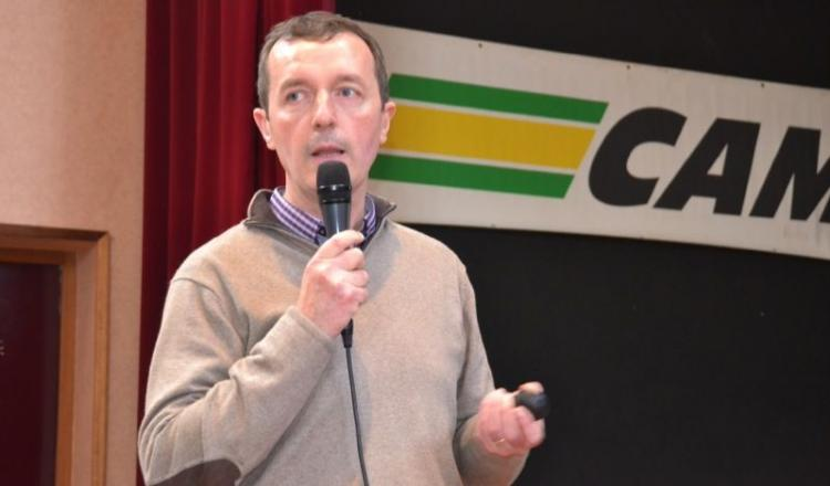 Michel Le Friant, responsable céréales chez Caliance.