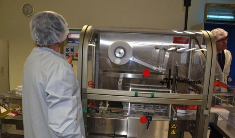 L'industrie du médicament vétérinaire suit avec attention les débats européens sur la réforme du médicament vétérinaire (ici, usine Sogeval à Louverné - photo d'archives).