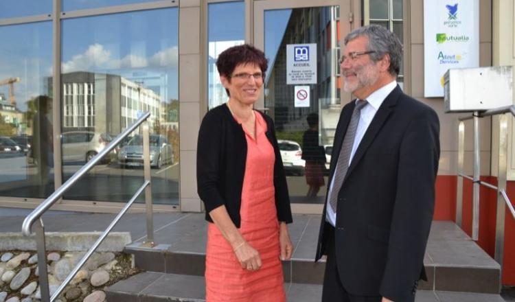 Mardi 30 septembre, auMans, Guy Ferron quittait son poste de directeur général. C'est Chantal Pineau qui le remplace désormais.