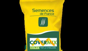 Covermix, une association prête à l'emploi, de colza, trèfle d'Alexandrie et fenugrec.