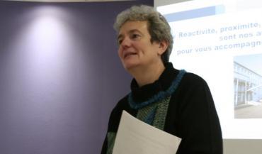 """""""Pour réaliser de bons tests, il faut de bons prélèvements, de bons réactifs, et de bonnes interprétations."""" Aurèle Valognes, directrice du LDA53 et présidente de l'association des laboratoires vétérinaires."""