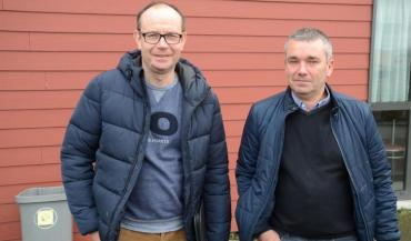 Olivier Chemin, président départemental, et Pascal Aubry, président régional, se sont entretenus avec les six parlementaires mayennais, par visioconférence (photo d'archives).