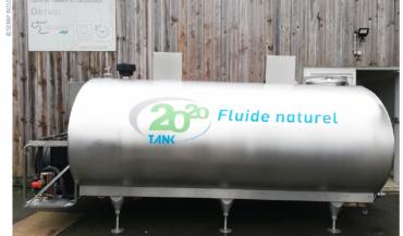 Parmi les prototypes expérimentés dans le projet Tank 2020, la ferme de Derval teste un modèle fonctionnant avec un fluide naturel. (photo Serap industries)