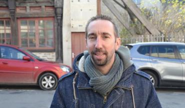 Nicolas Girodest porte-parole national de la Confédération paysanne et éleveur de vaches laitières dans le Jura.