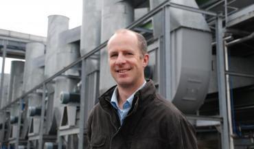 Hervé Lhotellier,nouveau maire de Launay-Villiers (Mayenne) et producteur de lait et de porc.