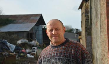 Thierry Hervé (ici en février dernier) s'était vu retirer ses 315 bovins par l'administration pour maltraitance animale.