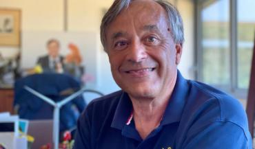 Yves de la Fouchardière est directeur de la Cafel (coopérative agricole des fermiers de Loué).