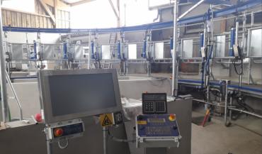 Avec le nouveau roto de traite, la ferme des Trinottières se dote d'un outil de formation moderne et d'une plus grande capacité expérimentale.