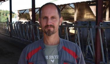 Philippe Tanguy 46 ans, était professeur des écoles. Il est désormais agriculteur.