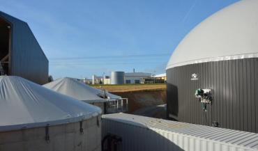 L'unité de Meslay-du-Maine dispose d'un voisin gourmand en énergie: la fromagerie Perreault. Mais leurs capacités et besoins ne sont pas encore en phase.