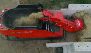 La mélangeuse automatique Aura sera commercialisée au prix de 200000/euros environ. (photo Kuhn)