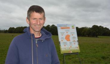 Christophe Mongodin a choisi de s'orienter en système herbager à partir de 2013. La génétique est l'une des dernières étapes de ce cheminement.