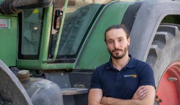 Paolin Pascot est cofondateur de la plateforme de vente de matériel en ligne Agriconomie.