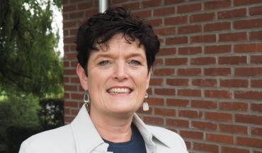 Seita van Keimpema est la troisième présidente depuis la création de l'European Milkboard, et la première femme.