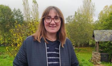 Estelle Marotte, 45 ans, éleveuse laitière à Châtelain (53).