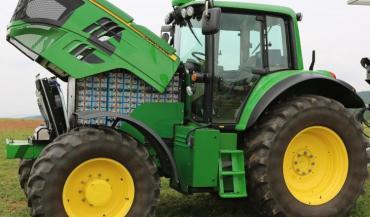 Des tracteurs 100/% électriques sont déjà au point: le Sesam de John Deere a été primé au Sima 2017.