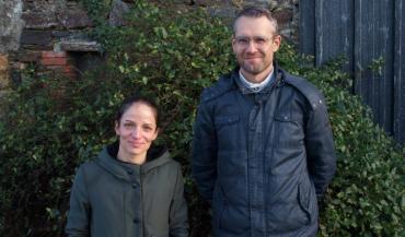 Laure Péron, animatrice Ecophyto à la Chambre d'agriculture régionale, et Hervé Jocaille, chef de projet Ecophyto à la Draaf.