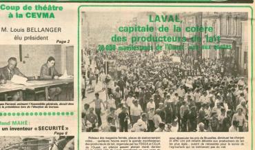La Une du 28 avril 1984.