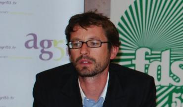 Gaël Gautier est secrétaire général du syndicat national Jeunes agriculteurs.