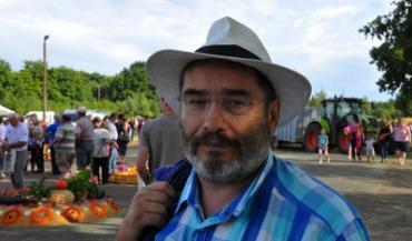 Jean-Christophe Gavallet, maire de Surfonds commune de moins de 400 habitants