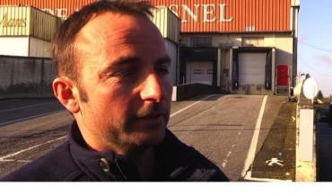 """Mickaël Guilloux, responsable porc à la FRSEA milite """"pour un vrai redressement du cours du porc et la préservation des emplois liés à la filière""""."""