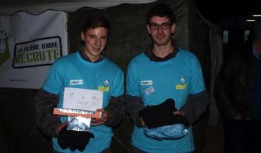 Louis Lardière et Gabriel Tellier se sont qualifiés pour la 13e finale nationale du meilleur jeune berger, qui mettra aux prises lors du prochain SIA 36 jeunes candidats qualifiés à l'issue des finales régionales.