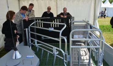 L'objectif de l'innovation Coquelin est d'améliorer le confort des animaux sans pénaliser le travail de l'éleveur.