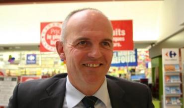 Pascal Dève, directeur de l'hypermarché Carrefour Saint-Serge à Angers.