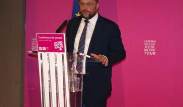 Martin Schulz est candidat à la présidence de la Comission européenne.