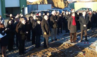 Une centaine d'invités (actionnaires, élus, représentants de GrDF et toutes les personnes ayant contribué au projet) ont découvert lundi matin le site de la SAS Agri Biométhane en faisant le tour des installations. L'inauguration est prévue en juin 2014.