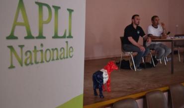 L'Apli veut présenter son projet de régulation aux élus nationaux, ont expliqué Sébastien Bréhault (membre du bureau) et Luc Merlet (président).