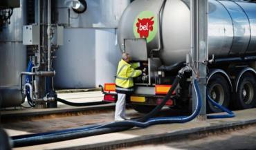 """Bel veut imposer le """"sans OGM"""" à ses producteurs de lait adhérents ou non, de l'APBO. (photo BEL©Franck_juery)"""