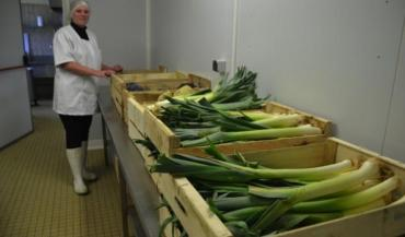 La légumerie de Génie est un bon exemple de la progression de l'approvisionnement des cantines collectives par des producteurs locaux.