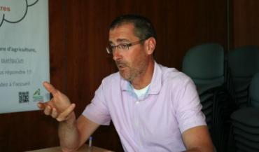 """Stéphane Guioullier, président de la chambre d'Agriculture de la Mayenne, veut préciser le projet de régionalisation avant de fusionner. Ses homologues espéraient résoudre les """"détails techniques"""" après une fusion au 1erjanvier 2018."""