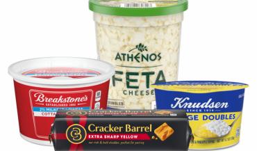 """Lactalis devrait racheter la division """"fromages naturels"""" du géant américain de l'agroalimentaire Kraft. L'accord concerne les marques Kraft, Cracker Barrel, Breakstone's, Knudsen, Polly-O, Athenos, Hoffman's aux Etats-Unis."""