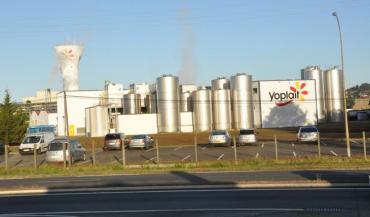 L'usine Yoplait au Mans (photo d'archives)